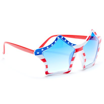 USA American Flag Party Glasses - 4th July Party Accessories left