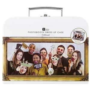 Glitterati Photo Booth Props Kit with Carry Case