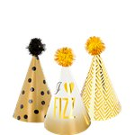 Glitterati Mini Party Hats - 11cm
