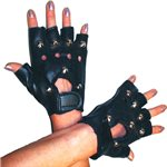 80's Studded Punk Gloves