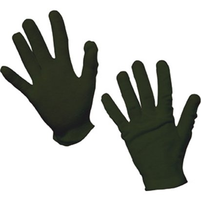 Kids Black Gloves - Fancy Dress Accessories front