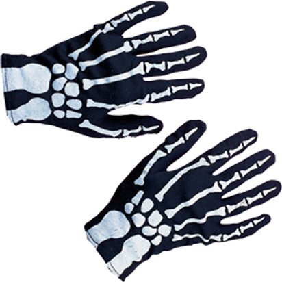 Child Skeleton Gloves - Halloween Gloves front