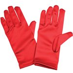 Childrens Red Gloves