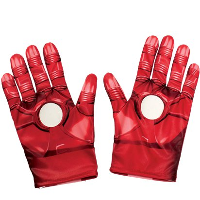 Childrens Iron Man Gloves front