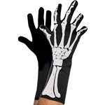 Adult Skeleton 3D Gloves