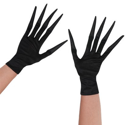 Child Creepy Gloves - Halloween Accessory front