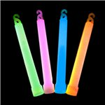 Assorted Colours Glow Stick Necklaces - 10cm