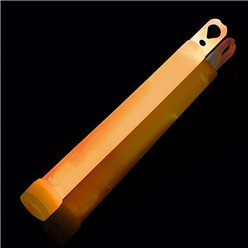 Orange Glow Stick Necklace - 15cm