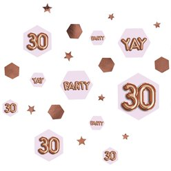 30th Glitz & Glamour Birthday Confetti - 34g Bag