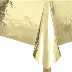 Metallic Gold Foil Tablecover - 1.4m x 2.7m