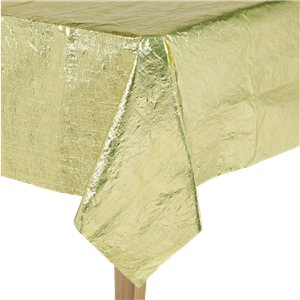 Gold Metallic Paper Tablecover - 1.8m x 1.2m