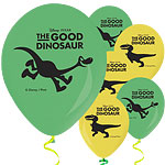 "Good Dinosaur Balloons - 11"" Latex"