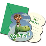 Good Dinosaur Party Invitations