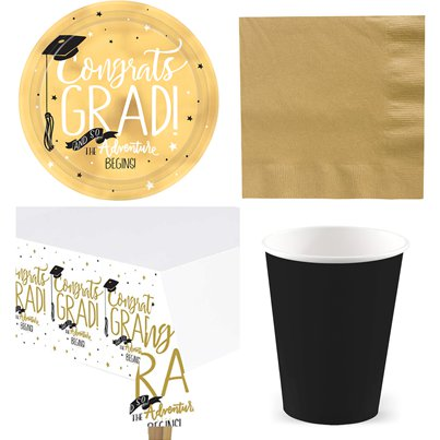 Graduation Party Pack - Value Pack For 8