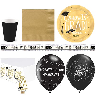 Graduation Party Pack - Deluxe Pack For 16