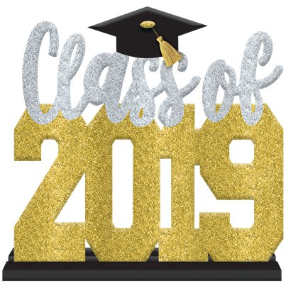 27572ed11842 Class of 2019 Graduation Stand Up Sign