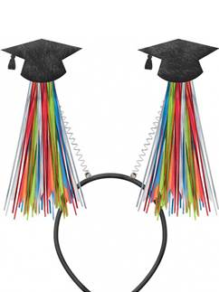 Graduation Tinsel Head Bopper - 31cm