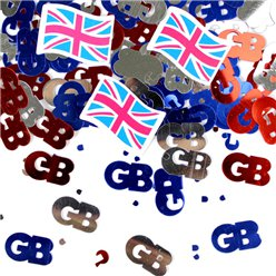 Union Jack Table Confetti - 14g Bag