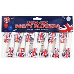 Union Jack Blowouts