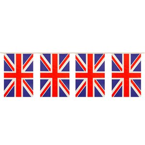 Union Jack Flag Bunting - 1 (Great Britain)