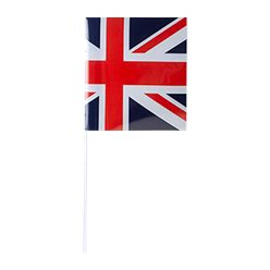 Union Jack Hand Waving Flags - 50cm