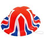 Union Jack Mini Bowler Hat
