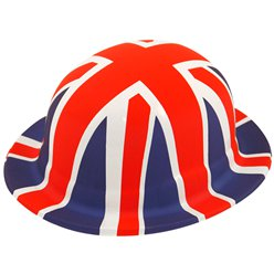 Great Britain Plastic Bowler Hat