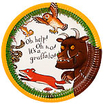 The Gruffalo Plates - 23cm Paper Party Plates