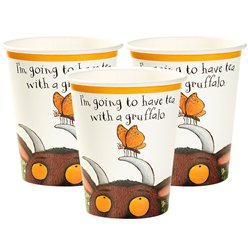 The Gruffalo Cups - 250ml Paper Party Cups
