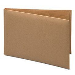 Brown Silk Guest Book - 24.5cm