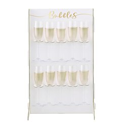 Gold Wedding Gold Wedding Prosecco Wall Drinks Holder
