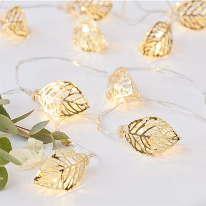 Gold Wedding Vine String Lights - 1.5m