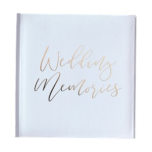 Gold Wedding Photo Album