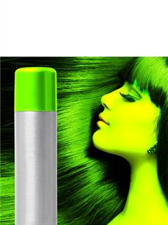 UV Hair & Body Spray - Green 75ml
