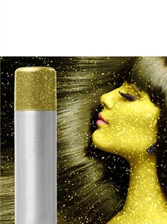 Gold Glitter Hair & Body Spray - 75ml