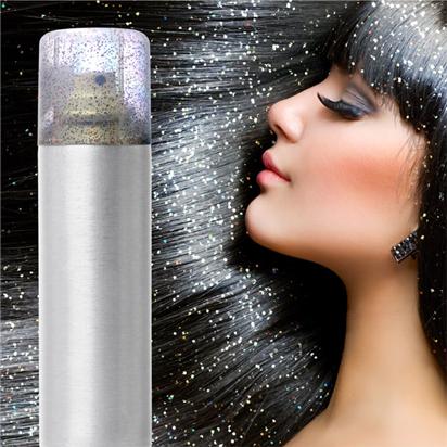 Glitter Hair Spray Silver 125ml Party Delights