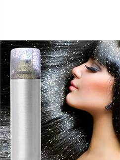 Glitter Hair Spray - Silver 125ml
