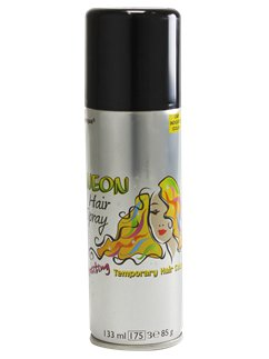 Coloured Hair Spray - Black 133ml