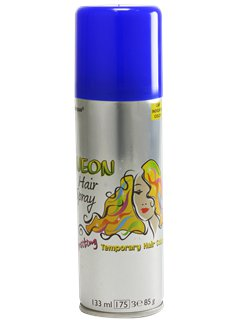 Coloured Hair Spray - Blue 133ml