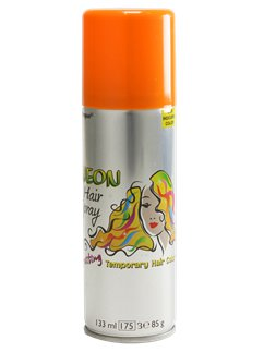 Coloured Hair Spray - Orange 133ml