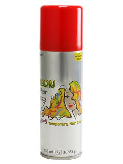 Coloured Hair Spray -  Red 133ml