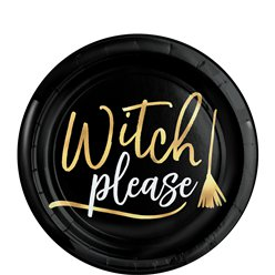 Witch Please Plate - 19cm