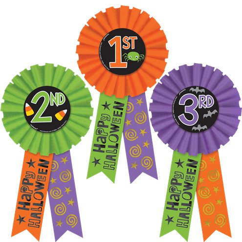 halloween award ribbons party delights