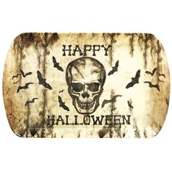 Skull Serving Tray - 39x24cm