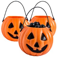Pumpkin Treat Pails - 6cm