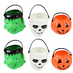 Halloween Trick or Treat Pails - 6cm