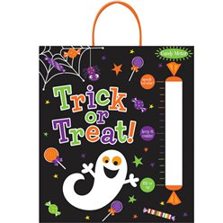 Trick or Treat Tote Bag with Candy Meter - 40cm