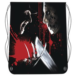 Freddy VS. Jason Drawstring Bag