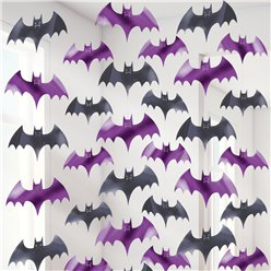 Bat String Halloween Decoration - 2m