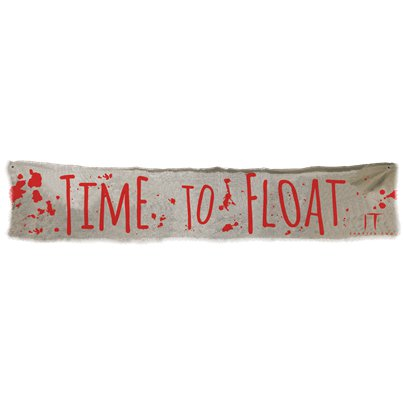 "IT Chapter 2 ""Time to Float"" Banner"